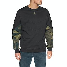 Sudadera Adidas Originals Camo Crew - Black