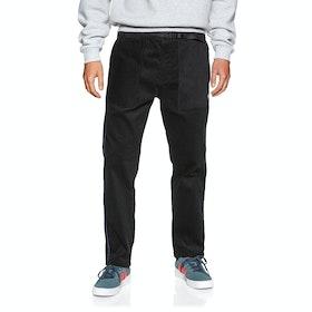Adidas Cord Jogging Pants - Black