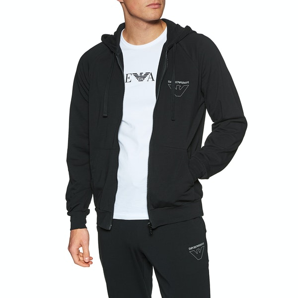 Emporio Armani Long Sleeve プルオーバーパーカー