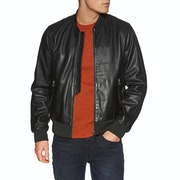 Paul Smith Leather Bomber Leather Jacket