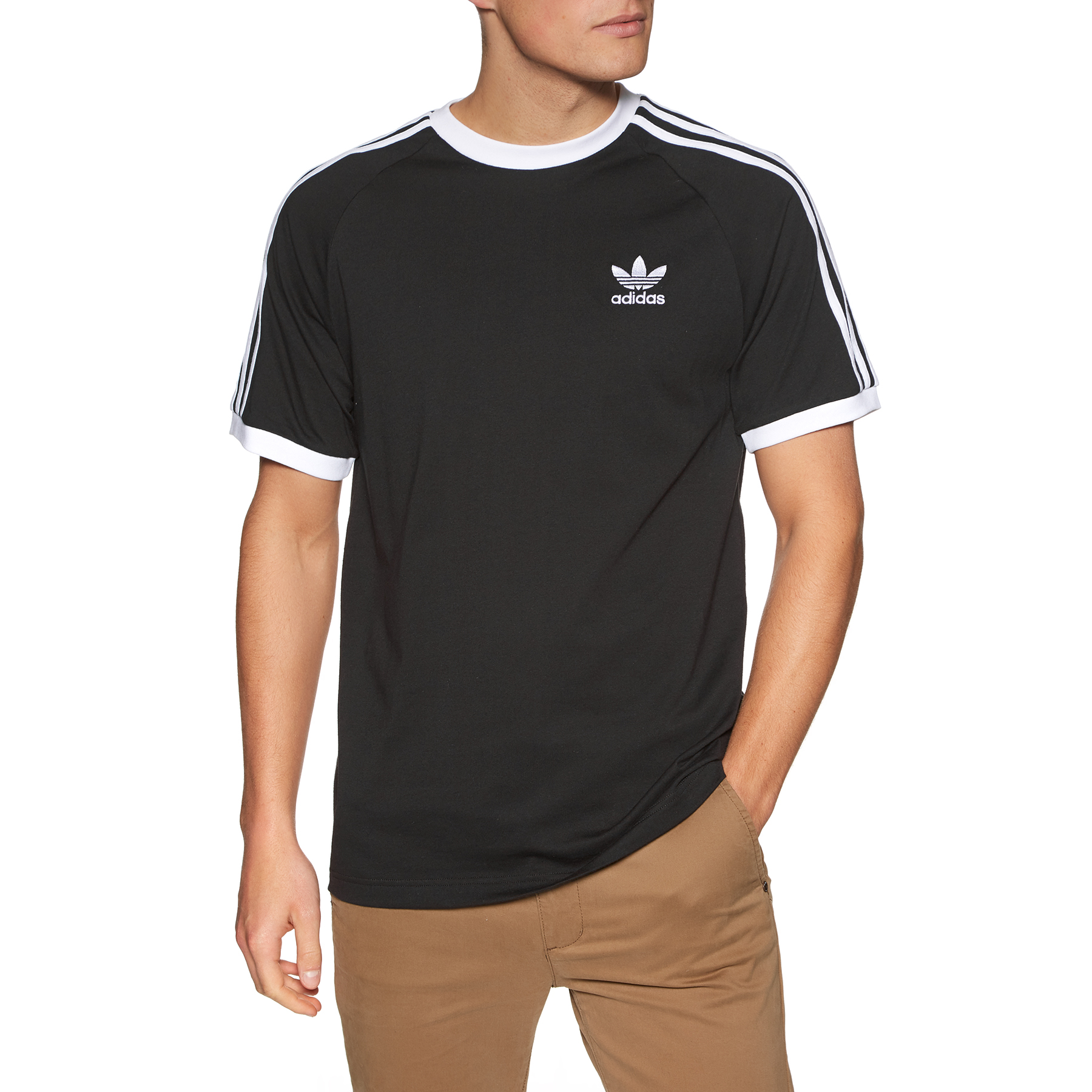 Camiseta Adidas Originals Filled Label Branca Red