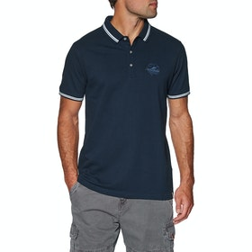Protest Ted Polo Shirt - Ground Blue