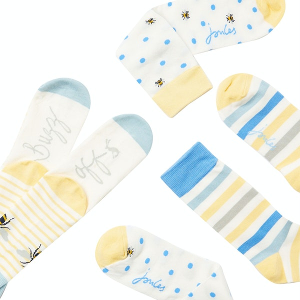 Joules Brill Bamboo 3 Pack Women's Socks