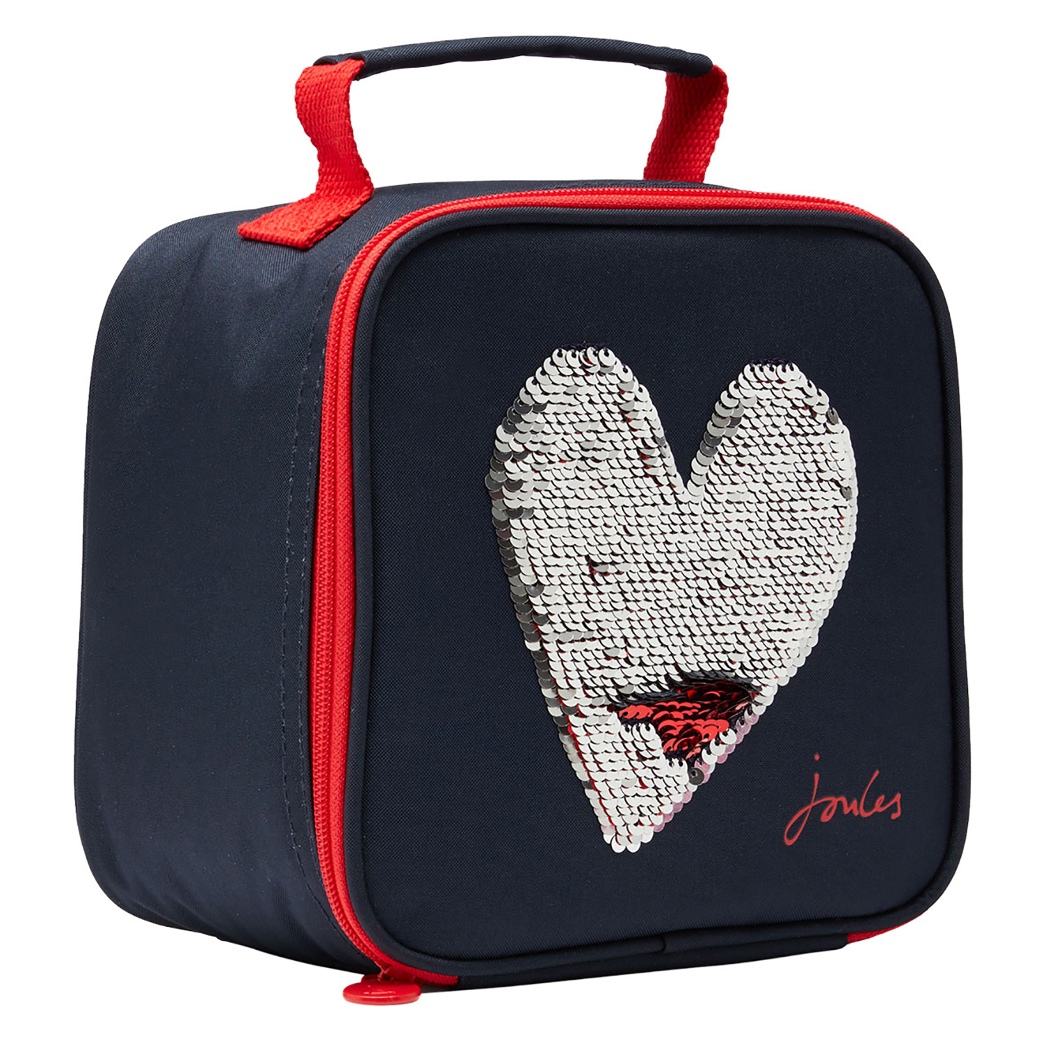 Blue Heart One Size Joules Munch Kids Bag Lunch