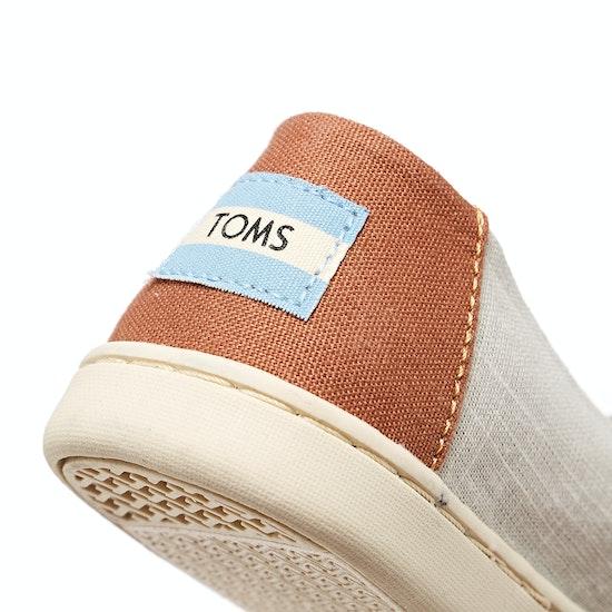 Toms Crosshatch Jr Kids Espadrilles