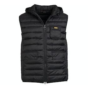 Barbour Ousten Hooded Vest - Black