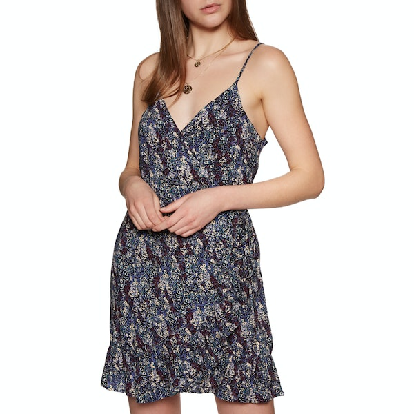 Free People All My Love Printed Wrap Dress