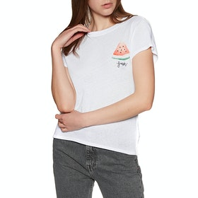 Free People Fruit Medley Women's Short Sleeve T-Shirt - White