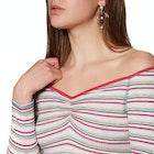 Free People Put A Stripe On It Women's Bodysuit
