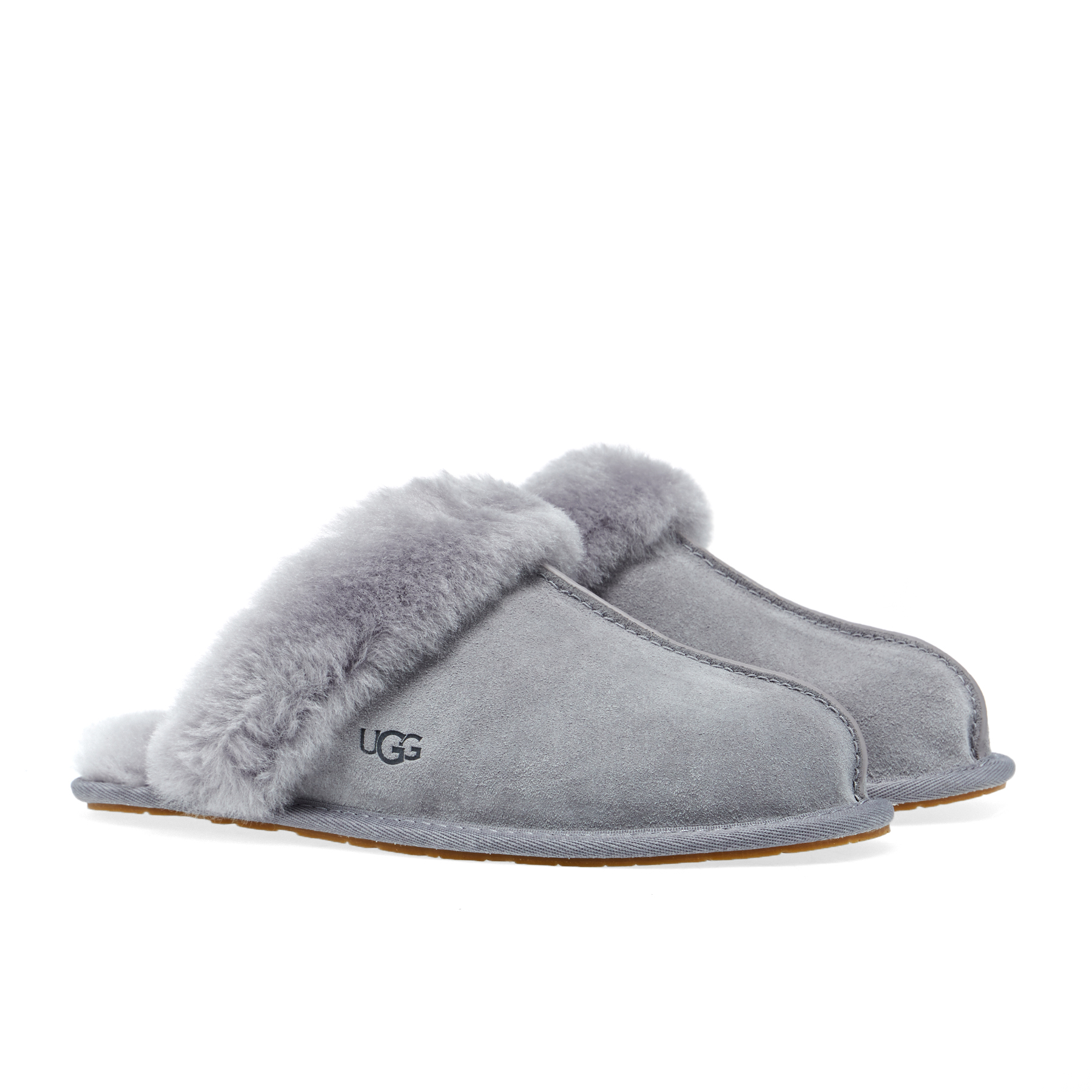 Grey Classic Slippers