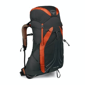 Osprey Exos 38 Hiking Backpack - Blaze Black