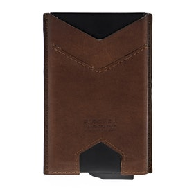 Rip Curl Mechanical Rfid Slim Wallet - Brown