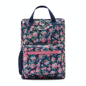 Joules Easton Mädchen Rucksack - Navy Ditsy Floral