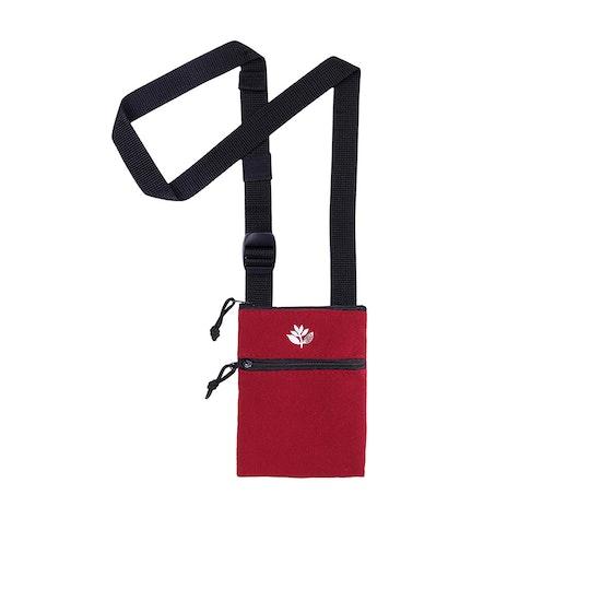 Magenta XS Pouch Messenger Bag