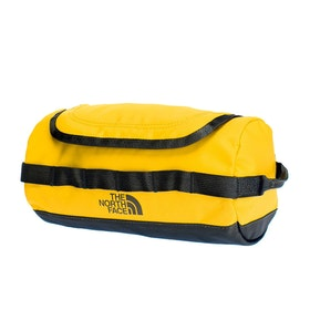 North Face Base Camp Travel Canister Wash Bag - Summit Gold TNF Black