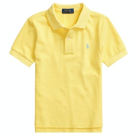 Polo Ralph Lauren Short Sleeve Knit Boy's Polo Shirt - Oasis Yellow