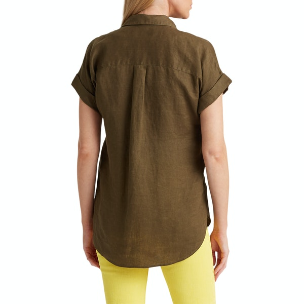 Lauren Ralph Lauren Broono Women's Short Sleeve Shirt