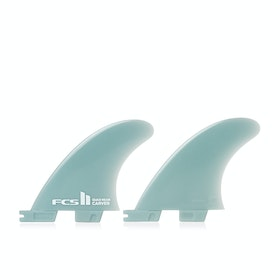 FCS II Carver Glass Flex Quad Rear Fin - Blue