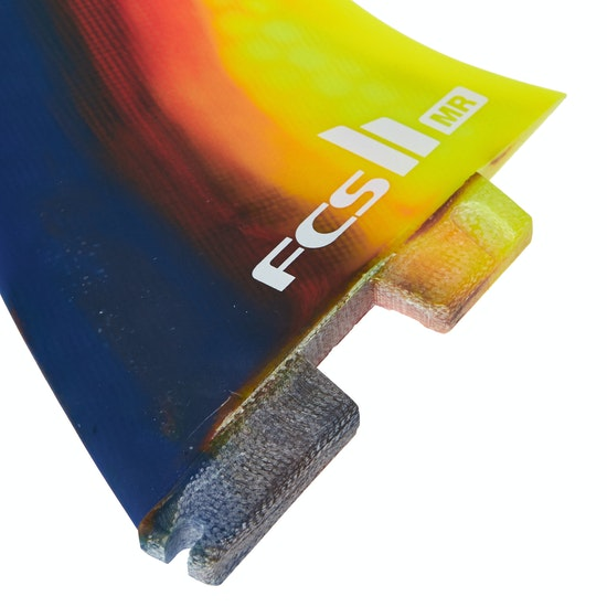 FCS II Mark Richards Performance Core 2+1 Thruster Fin
