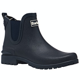 Barbour Wilton Ladies Wellington Boots - Navy