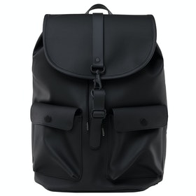 Rains Camp Rucksack - Black