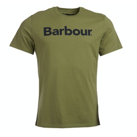 Barbour Logo T Shirt - Burnt Olive