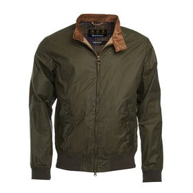 Barbour Lightweight Royston 4oz Mens Wax Jacket - Archive Olive
