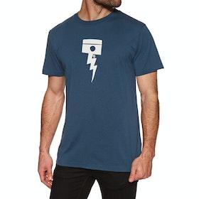 T-Shirt a Manica Corta Deus Ex Machina Pisstin - Navy