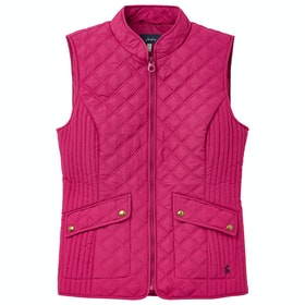 Joules Minx Ladies Gilet - Berry Blush