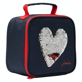Joules Munch Childrens Lunch Bag - Blue Heart