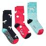 Joules Brill Bamboo 3 Pack Ladies Socks