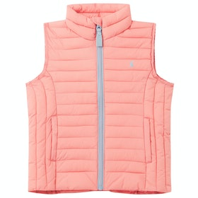 Joules Croft Girls Gilet - Pink