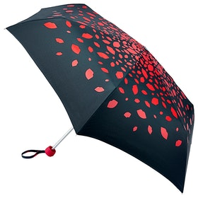 Lulu Guinness Minilite Women's Umbrella - Raining Lips