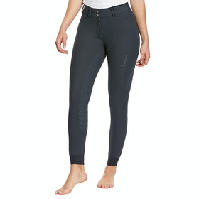 Ariat Tri Factor Grip Full Seat Ladies Riding Breeches - Ebony
