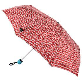 Joules Minilite Women's Umbrella - Dalmatian Geo