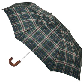 Joules Minilite Crook Umbrella - Check
