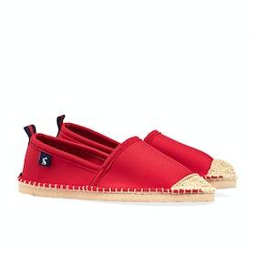 Joules Ocean Flipadrille Damen Espadrilles - Chinese Red