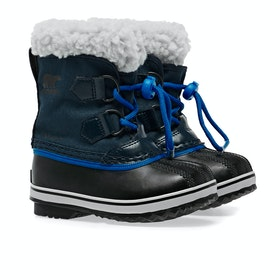 Sorel Childrens Yoot Pac Nylon Kinder Stiefel - Collegiate Navy