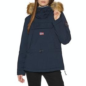 Napapijri Skidoo Women's Jacket - Blue Marine