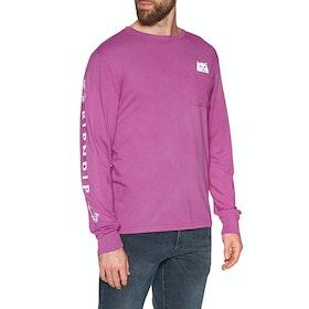 Rip N Dip Lord Nermal Long Sleeve T-Shirt - Fuchsia
