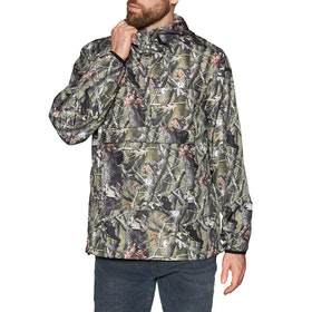 Rip N Dip Nerm And Jerm Tree Camo Packable Anorak Windproof Jacket - Multi