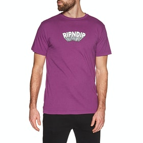 Rip N Dip Mind Blown Short Sleeve T-Shirt - Purple