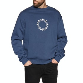 Sweat Adidas Pinwheel Crew - Tech Indigo Light Grey