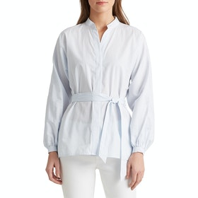Lauren Ralph Lauren Filancia Women's Shirt - Blue/white