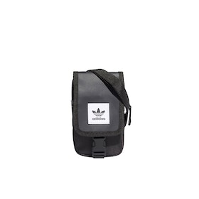 Adidas Originals Map Messenger Bag - Black