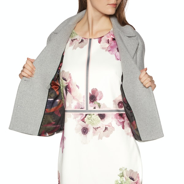 Ted Baker Agneta Double Breasted Cropped Women's Jacket