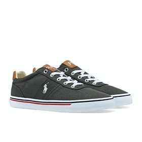 Scarpe Polo Ralph Lauren Hanford - Black White