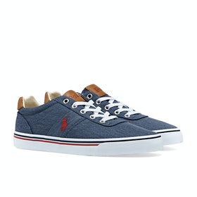 Scarpe Polo Ralph Lauren Hanford - Newport Navy Red