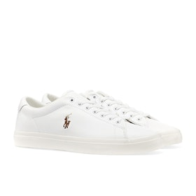 Buty Polo Ralph Lauren Nappa Smooth Calf - White