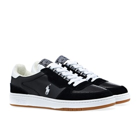 Scarpe Polo Ralph Lauren Polo Court - Black White